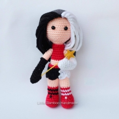 Gemini amigurumi pattern by Little Bamboo Handmade