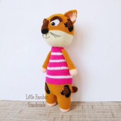Jackie the Jaguar amigurumi pattern by Little Bamboo Handmade