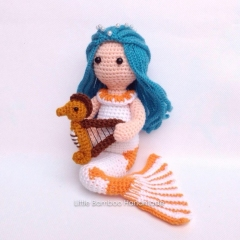 Pisces amigurumi pattern by Little Bamboo Handmade