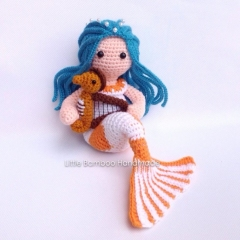 Pisces amigurumi by Little Bamboo Handmade