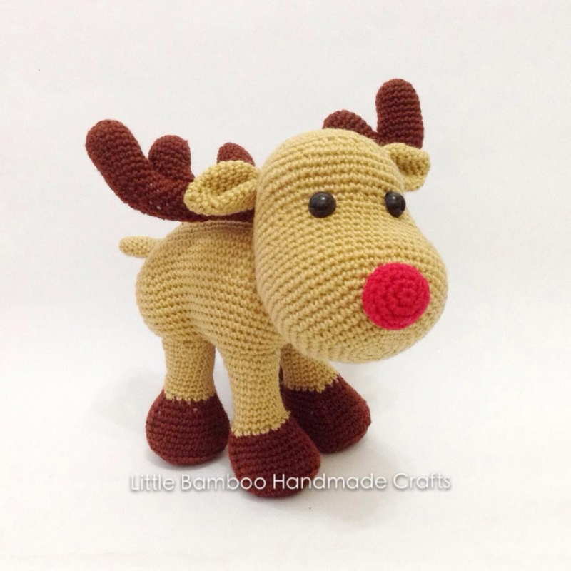 Reindeer And Sleigh amigurumi pattern - Amigurumipatterns.net