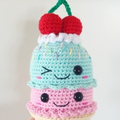 Big Ice Cream Cone amigurumi pattern - Amigurumipatterns.net
