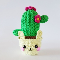 Cactus Bunnies amigurumi pattern by Super Cute Design