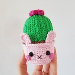 Cactus Bunnies amigurumi by Super Cute Design