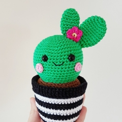 Cactus Friends amigurumi by Super Cute Design