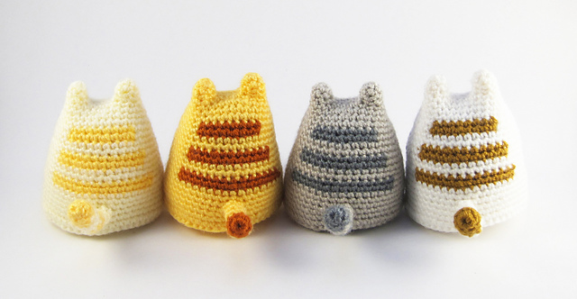 Amigurumi Kitten Patterns : Dumpling kitty free amigurumi pattern