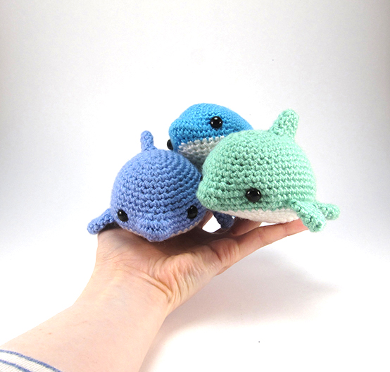 Amigurumi Dolphin Patterns : Pearl the Dolphin amigurumi pattern - Amigurumipatterns.net
