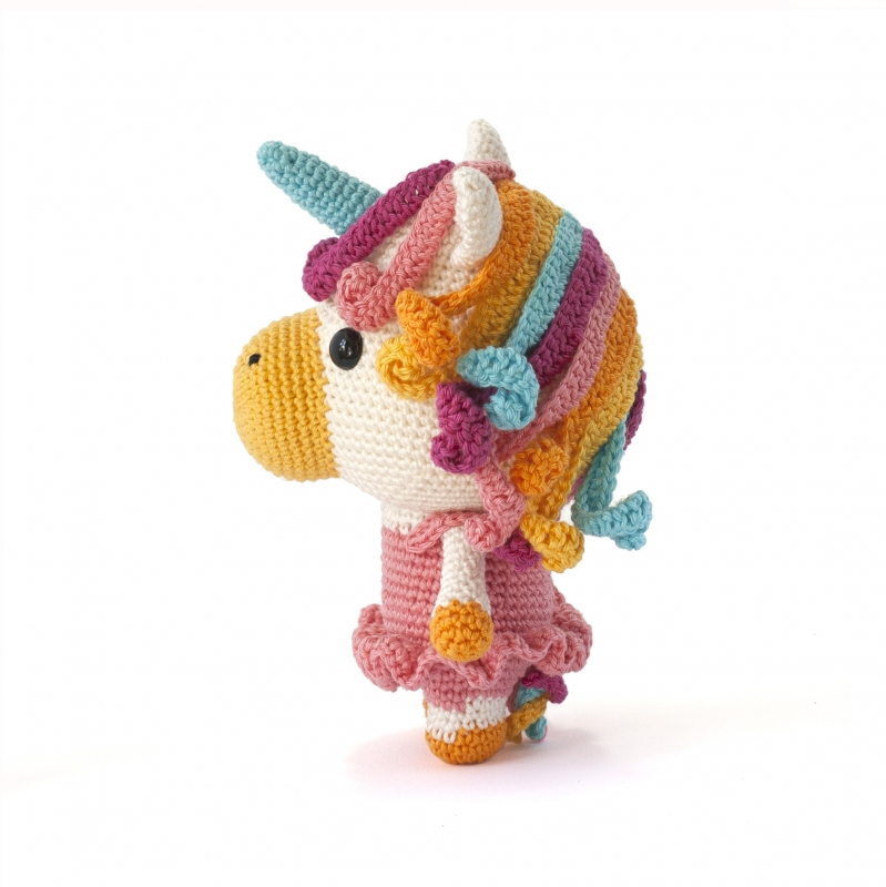 DIY Amigurumi Amigurumi Unicorn Making – Rear Leg, Horn, Mane ... | 800x799