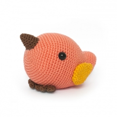 Cute Bird amigurumi pattern by DIY Fluffies