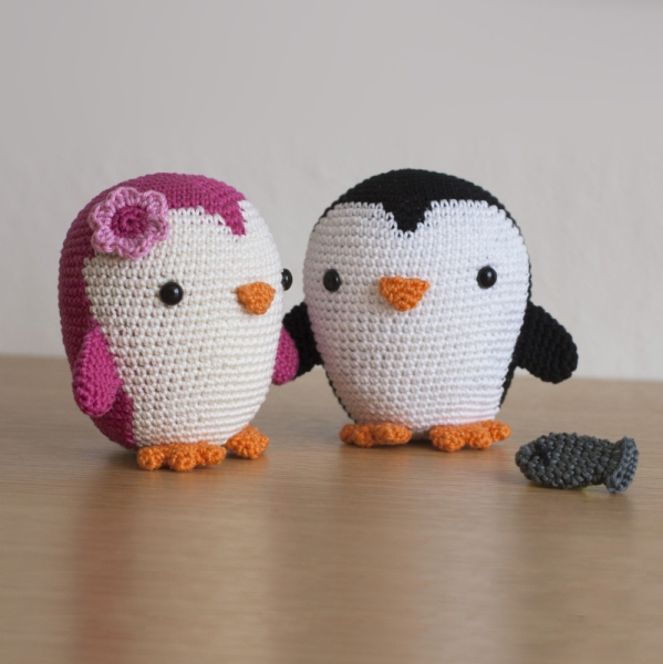 Cute Penguin Couple Amigurumi Pattern Amigurumipatternsnet