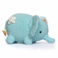Love and Star Elephant amigurumi pattern by DIY Fluffies
