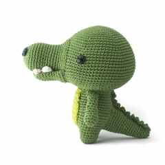 Toto the Crocodile amigurumi pattern by DIY Fluffies