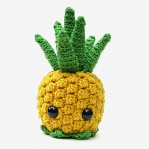 Amigurumi Fast Food : Bill the Pineapple amigurumi pattern - Amigurumipatterns.net