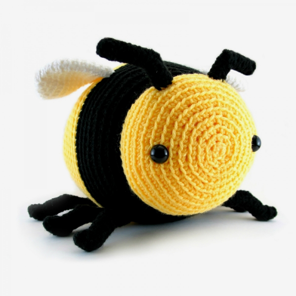 Amigurumi Pattern Bee : Bobby the Bumble Bee amigurumi pattern - Amigurumipatterns.net