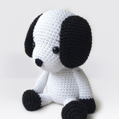 Flecky the Dog amigurumi by Pepika