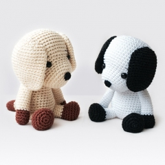 Flecky the Dog amigurumi pattern by Pepika