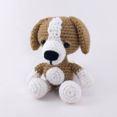 Adorable Puppy amigurumi pattern by Theresas Crochet Shop