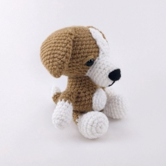 Adorable Puppy amigurumi by Theresas Crochet Shop