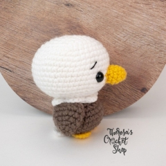 Baby Eagle amigurumi pattern by Theresas Crochet Shop