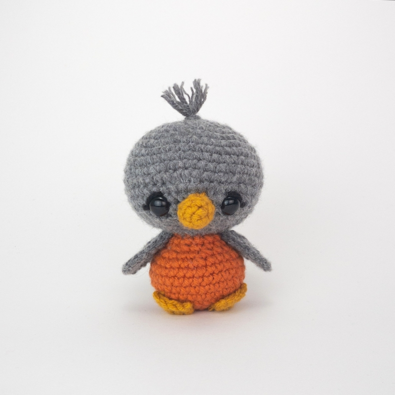 Blue the Bird amigurumi pattern - Amigurumipatterns.net