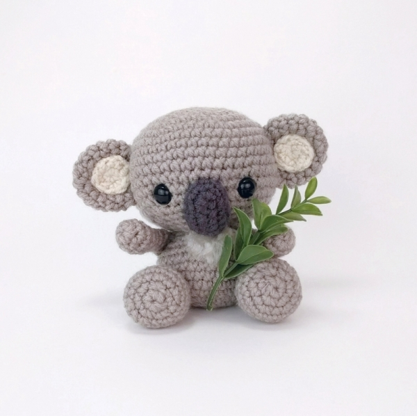 Amigurumi Knitting Patterns For Beginners : Kimba the Koala amigurumi pattern - Amigurumipatterns.net