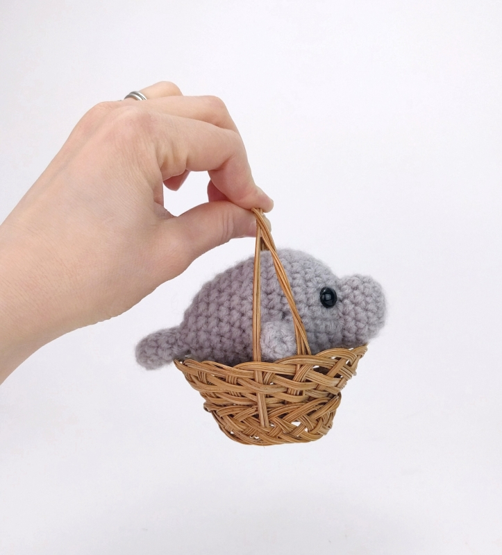 mini manatee by theresas crochet shop get for free by connecting ...