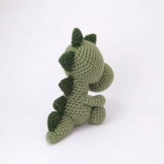 Mr. Dinosaur amigurumi by Theresas Crochet Shop