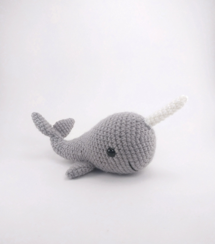 Amigurumi Narwhal : Norbert the Whale or Narwhal amigurumi pattern ...