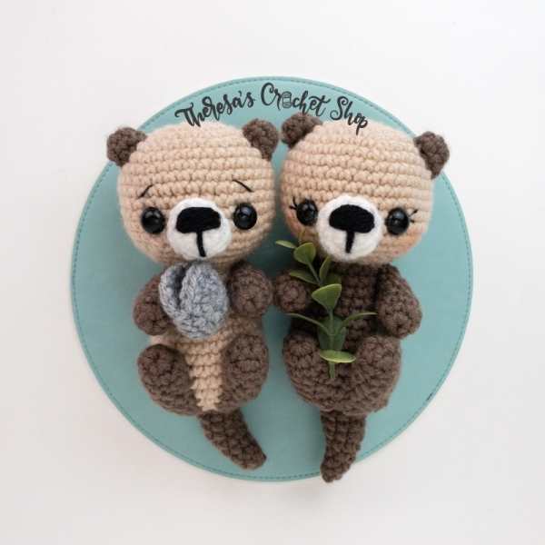 Sea Otters amigurumi pattern - Amigurumipatterns.net