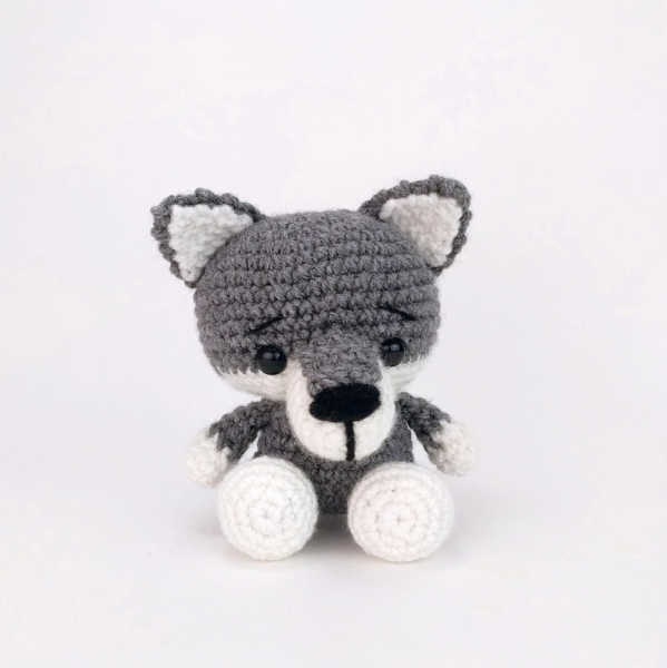 Wilson the Wolf amigurumi pattern - Amigurumipatterns.net