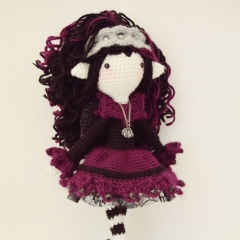 Lilith, the Love-Stricken amigurumi by Fox in the snow designs
