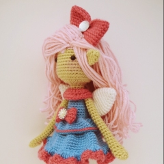 Shaylee, the Fun-loving Fairy amigurumi by Fox in the snow designs