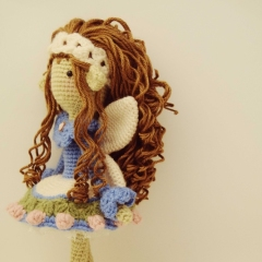 Tatiana, the Tenderhearted amigurumi by Fox in the snow designs