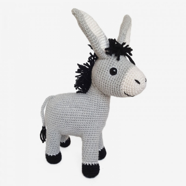 Crochet Donkey Amigurumi Project: British Wool | TOFT | 600x600