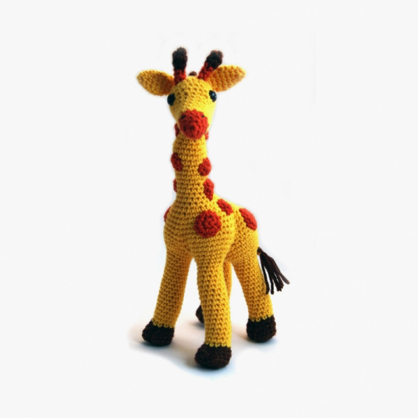 Advanced Amigurumi Shapes : Sansa the Giraffe amigurumi pattern - Amigurumipatterns.net