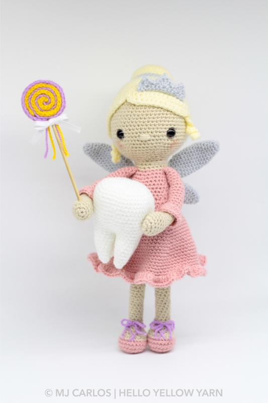 Tooth fairy amigurumi, tooth fairy pillow, Tooth Toy: Amazon.co.uk ... | 800x533