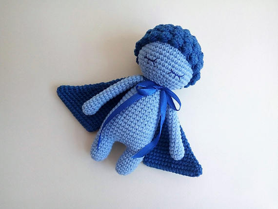 Sleepy Doll Amigurumi Free Crochet Pattern | Crochet fairy ... | 428x570