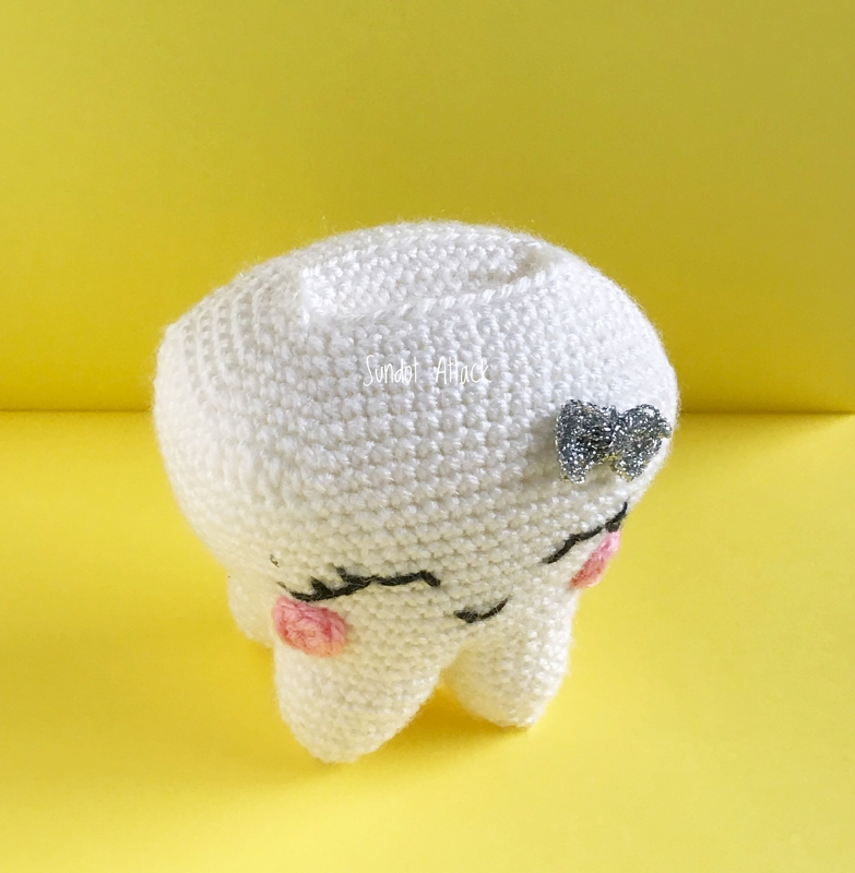 Tooth fairy amigurumi, tooth fairy pillow, Tooth Toy: Amazon.co.uk ... | 800x783