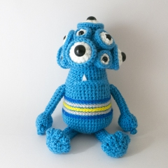 Horace the Monster amigurumi pattern by MevvSan