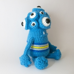 Horace the Monster amigurumi by MevvSan
