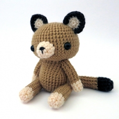 Woodland Critter - Cougar amigurumi pattern by MevvSan