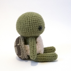 Woodland Critter - Turtle amigurumi by MevvSan