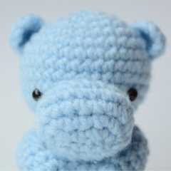 Henry the Hippo amigurumi pattern by Amiable Amigurumi