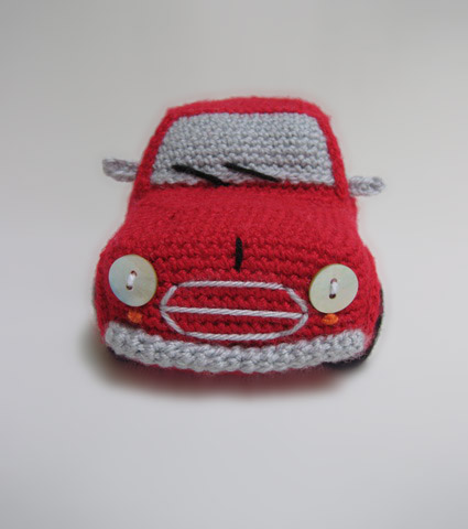 RED CLASSIC CAR CROCHET PATTERN GRAPH AFGHAN EMAILED .PDF ... | 480x425