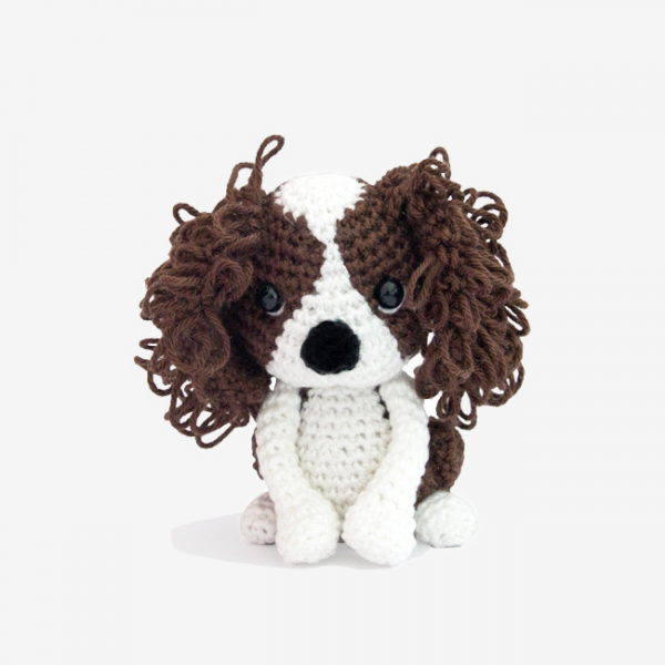 Lullabelle the cavalier king charles spaniel amigurumi pattern lullabelle the cavalier king charles spaniel amigurumi pattern by mi fil mi calin thecheapjerseys Images