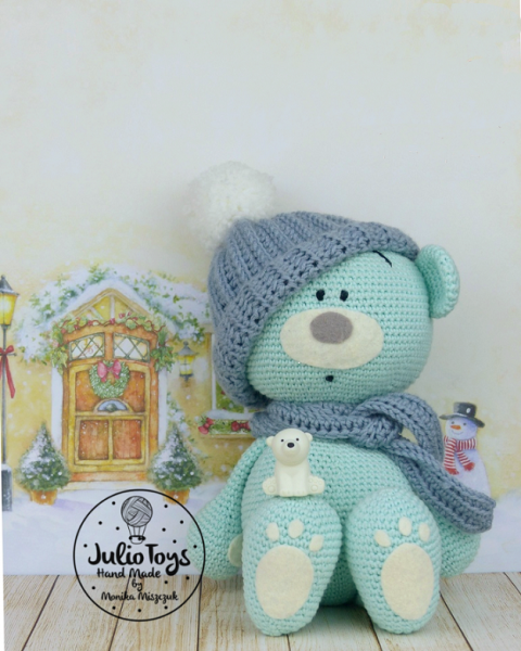 Blue Teddy Bear Amigurumi Pattern Amigurumipatterns Net