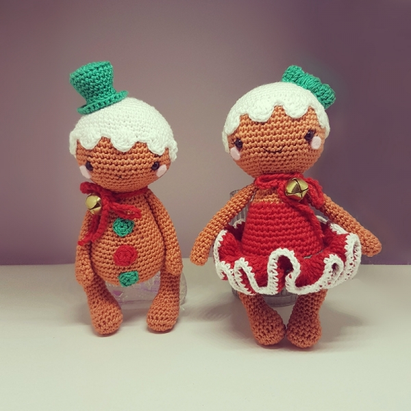 Best Mr And Mrs Questions: Mr And Mrs Gingerbread Amigurumi Pattern