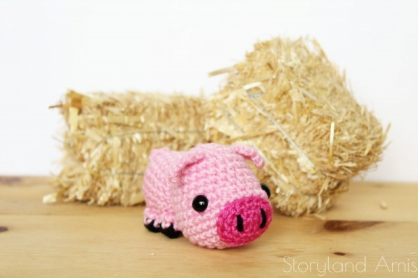 Little pig | Free amigurumi and crochet toy patterns | lilleliis | 399x600
