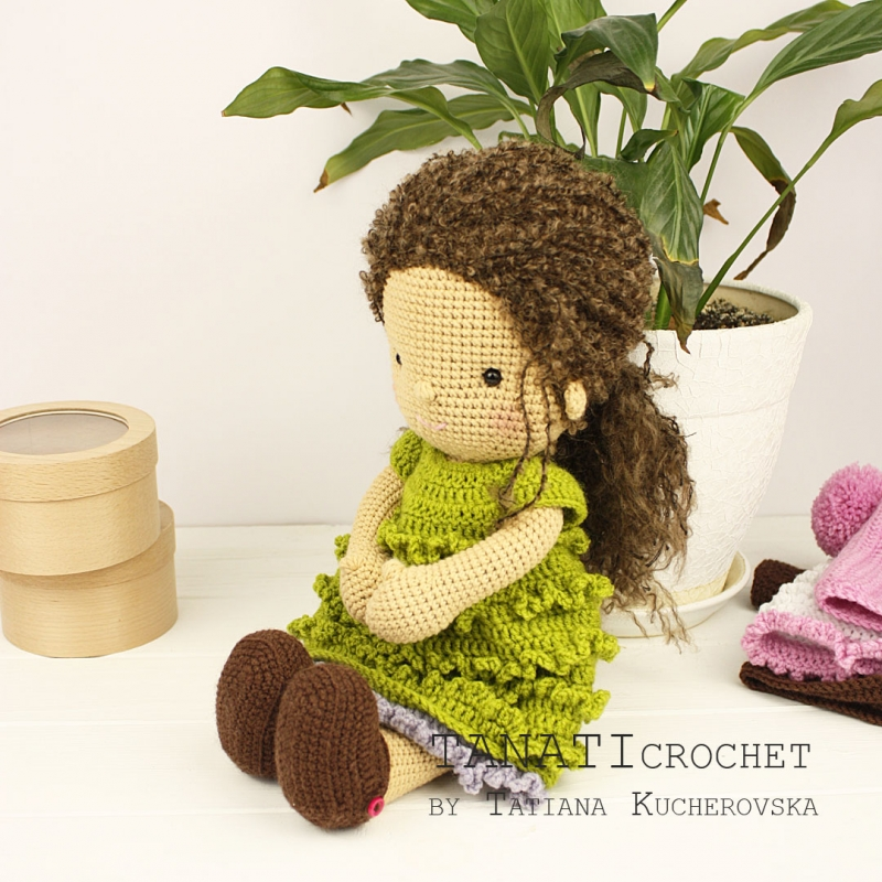 I now have made three of the crochet Waldorf dolls in three skin ... | 800x800