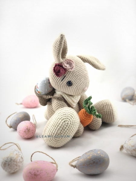 Amigurumi bunny with long ears - Amigurumi Today | 600x450